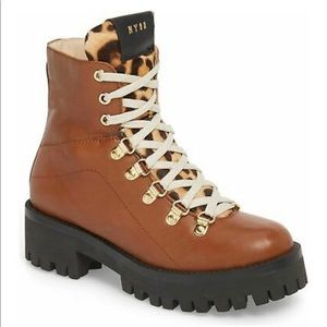 NWOT Steve Madden Cheetah Boom Boots
